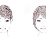 顔を痩せて見せたいときに逆効果な髪型