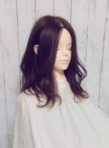 ミディアム巻き髪
