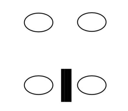 分割距離錯視