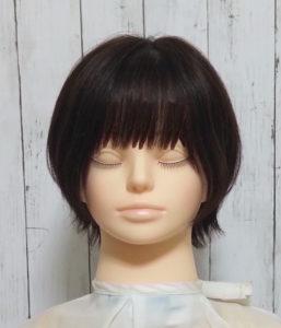 厚め前髪の例