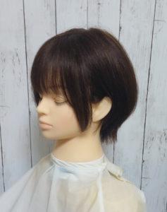 木村文乃のショートヘア サイド