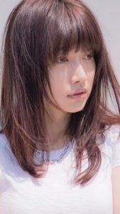 ヨンア 2017年baila8月号 髪型