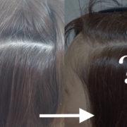 これが新型ノンジアミンカラーの発色!白髪染めの施術例