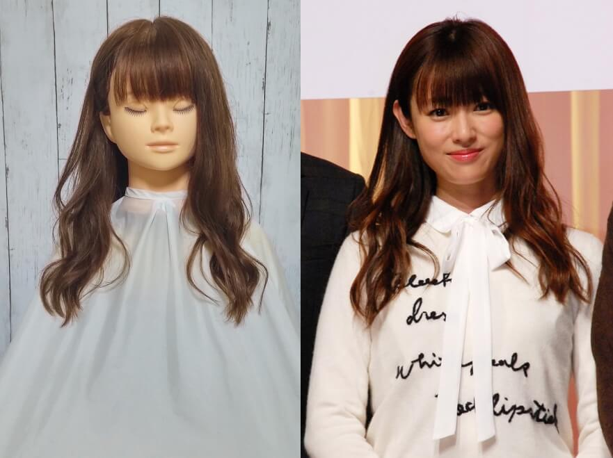 ダメ恋の深田恭子の髪型を再現してみた