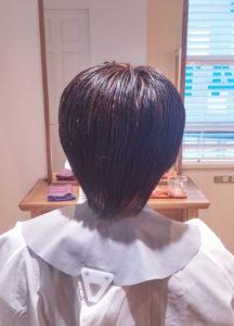 膨らむ髪質