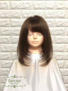 有村架純 髪型 Aラインシルエット ミディアムレイヤー
