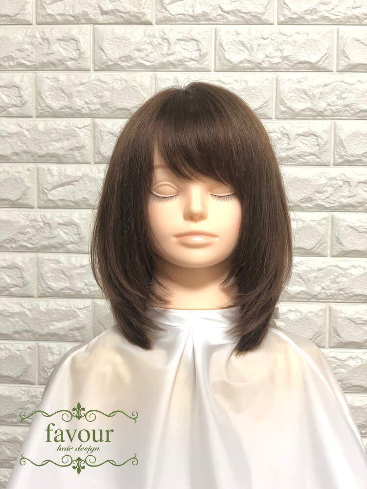 有村架純 髪型 ひし形シルエット ミディアムレイヤー
