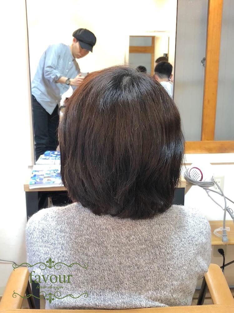 超多毛でくせ毛
