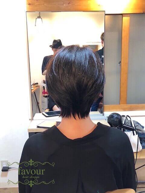 吉瀬美智子風ショートヘア