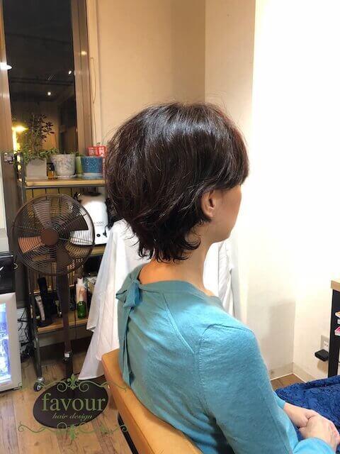 波瑠 ショートヘア パーマ