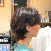 直毛で硬い髪質の方にオススメのパーマショートヘア