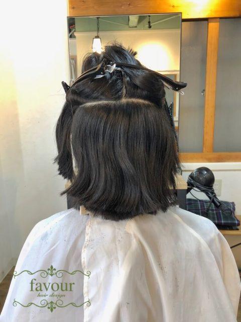 多毛でうねるくせ毛