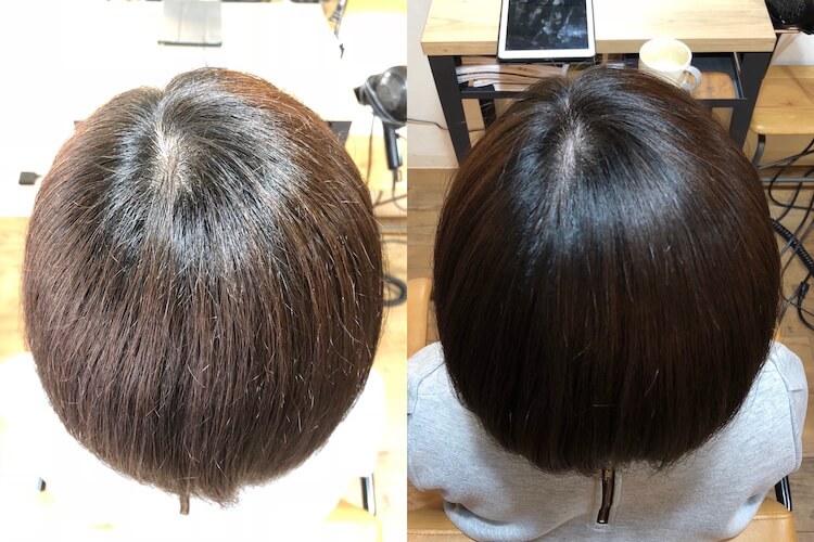 髪のチリつきは癖によるもの 縮毛矯正で綺麗に伸ばすことができます 自由が丘の美容師