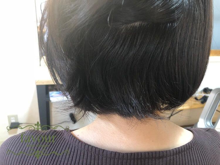 襟足のくせ毛が原因ではねている時の対処法