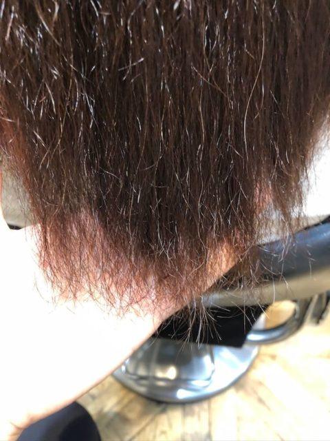 毛先まで毎回縮毛矯正をかけてビビリ毛