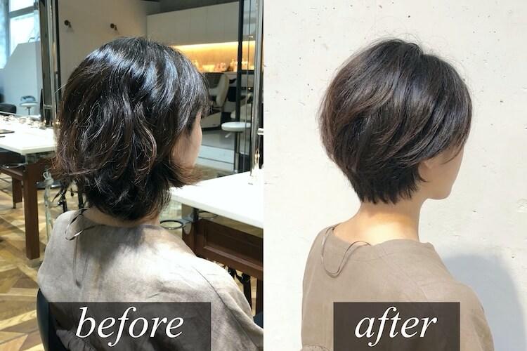 青山・表参道でくせ毛カット 髪質に合わせたカットが重要