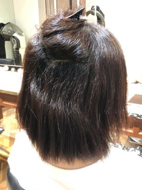ジリジリしたくせ毛・多毛で膨らみやすい髪質