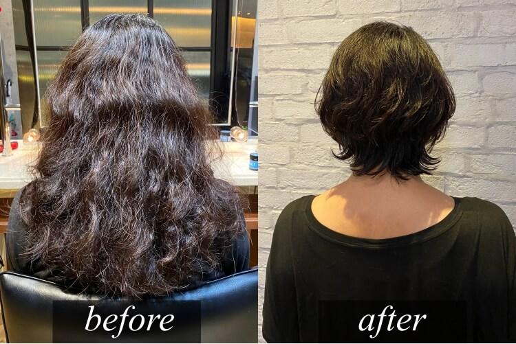 2021最新くせ毛カットについて美容師が解説。くせ毛で爆発してしまう悩みをどうしたら解決できるのか?カットのみでできること・できないことについて解説をしてみました。